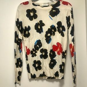 Equipment Floral Sweater